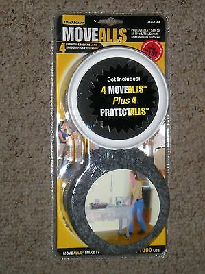 Workforce  4 Move Alls & 4  Protect Alls Furniture Moving Pads