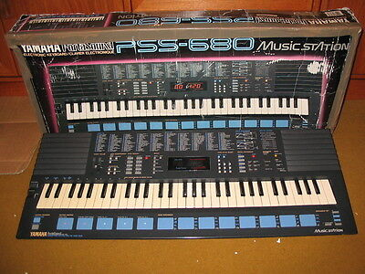Yamaha PSS 680 PortaSound Home Music Work Station Synth - Excellent Condition
