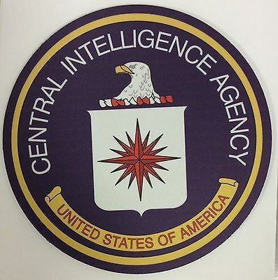 Central Intelligence Agency Round Mouse pad PC laptop