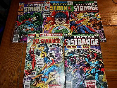 Dr. Strange Comics Assorted Lot Of 5 By Marvel Comics Includes #1 Issue!!!