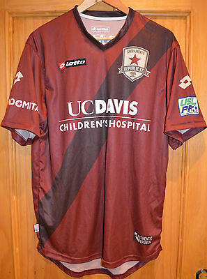 USA Sacramento Republic game worn match worn shirt jersey soccer J Braun Chivas