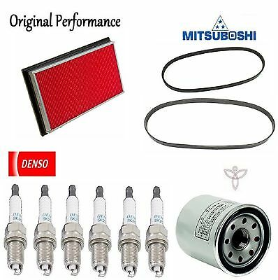 Tune UP KIT Air Oil Filters Plugs Belt for Nissan Murano V6; 3.5L 2003-2006