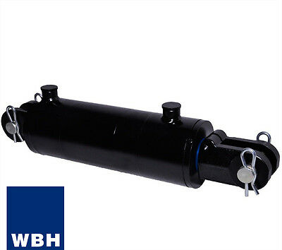 """3.5"""" Bore 10"""" Stroke Clevis End WBH Hydraulic Cylinder Welded Double Acting"""