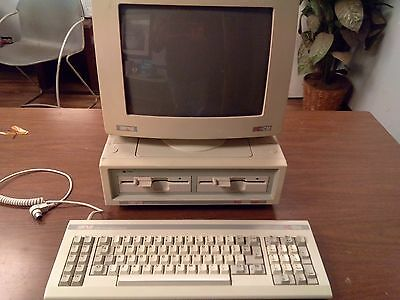 AMSTRAD PC1512DD Working Vintage MS-DOS 8086 Computer