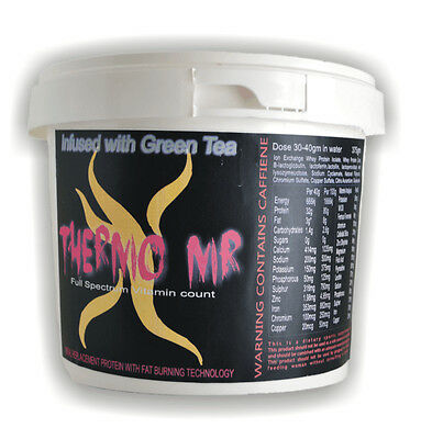 Thermo X MR- Meal Replacement Weight Loss Shake 1kg -French Vanilla