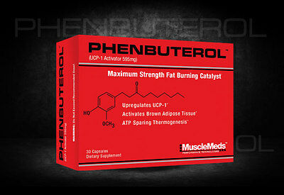 MuscleMeds Phenbuterol 30 Caps Fat Burner oxy hydroxycut lean shred xtreme