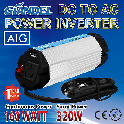 NEW ! Pure Sine Wave Inverter 1000W/2000W 12V-240V With 50A Charger+UPS