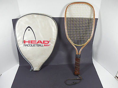 Vintage Head Racquetball Racquet And Cover