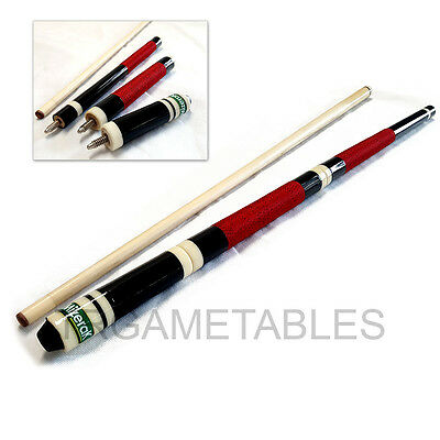 "Adjustable Length 4-piece Pool Cue for Billiard Game Small Room 57"" 52"" 48"" 43"""