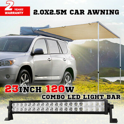 50inch 1480W Curved Light Bar Cree Spot Flood Combo Work Driving 620@1Lux