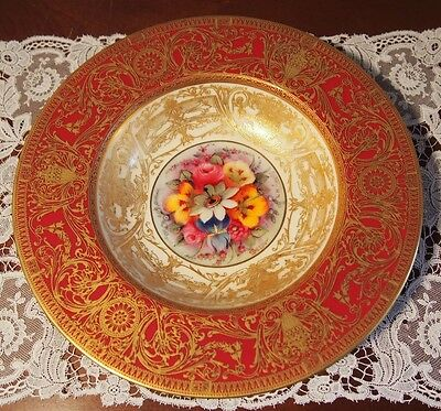 C 1926 Wonderful Royal Worcester Dish Hand Painted by W Austin