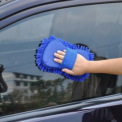 Car Wash Gloves Brushes Microfiber Ultrafine Motorcycle Washer Supplies Car Care