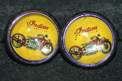 Indian Motorcycle - Horse Bridle Rosettes