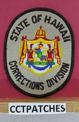 Hawaii Corrections Division (Police) Shoulder Patch Hi