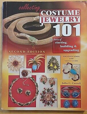 Costume Jewelry 101 Value Guide Id Collector's Book 350 Pages