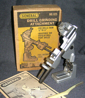 drill grinding attachment, General, No .8  - With original box and instructions.