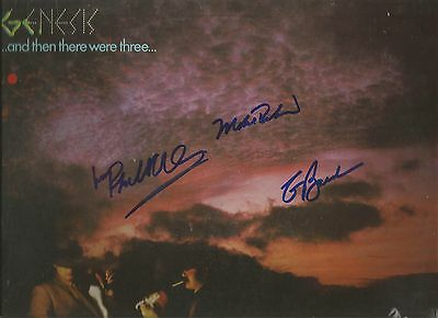 Genesis Signed Wind & Wuthering Lp Phil Collins Hackett Banks Mike Rutherford