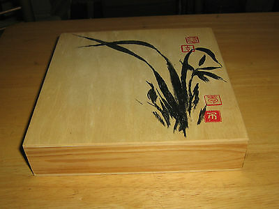 The Art of Chinese Chops, Stamp Kit with Wooden Box, Never Used