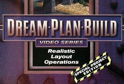 Realistic Layout Operations 73102D Dream Plan Build DVD Special Project Edition!