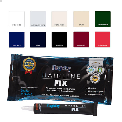 MagicEzy Hairline Fix - Repairs Gelcoat Cracks on your boat, RV or Jet Ski
