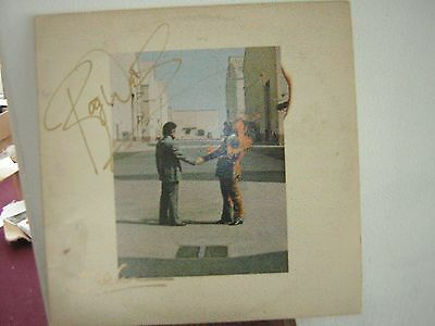 - Pink Floyd Signed Wish You Were Here Roger Waters David Gilmour