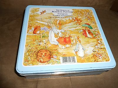 The World of BEATRIX POTTER European Cookie Tin (Container ONLY)