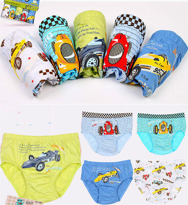 2pcs/set baby Boys Briefs Underwear Kids Children Cartoon Cotton Underpants 2-6T