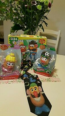BULK LOT x24 PIECES PUZZLE+MR POTATO HEAD  s + MS POTATO TIE+ BONUS