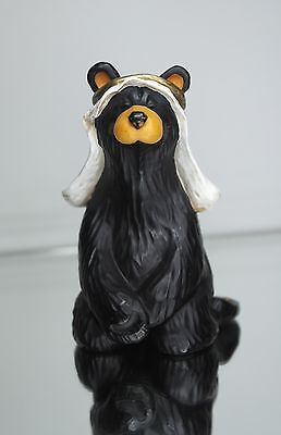 Big Sky Carvers Bearfoots Beartivity Christmas Black Bear Nativity Mary