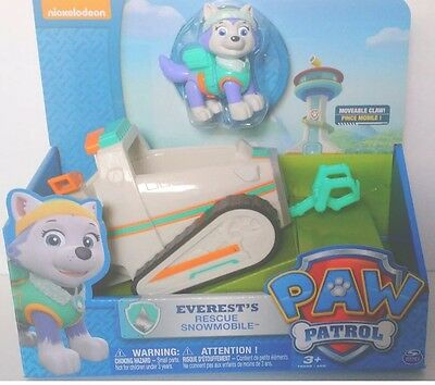 EVEREST'S RESCUE SNOWMOBILE.  Nickelodeon's PAW PATROL.