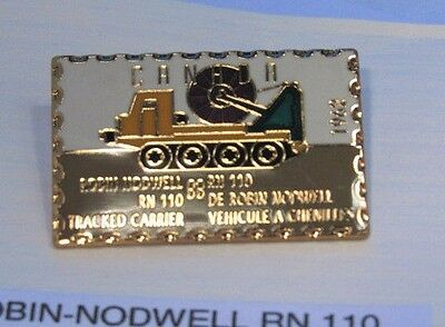Canada 1962 Robin Nodwell RN110 Tracked Carrier Enamel PIN Construction Vehicle