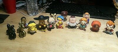 Kid Robot Collection Mystery boxes Family Guy, Simpsons, South Park, more.