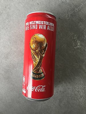 Coca Cola Dose Weltmeisterschaft 2014 Limited Edition