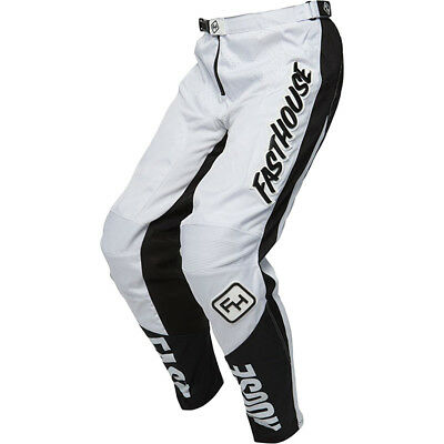 NEW Fasthouse MX Gear Grindhouse White Motocross Pants