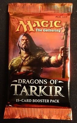 Magic the Gathering trading cards 20 X Dragons of Tarkir Booster packs