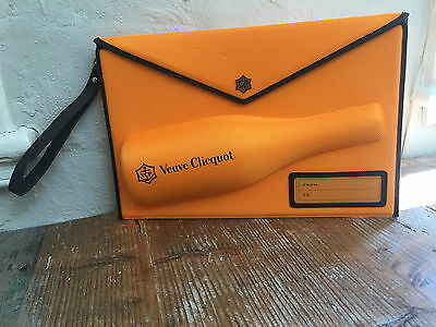 Brand New Veuve Clicquot Champagne Envelope Clutch Mail Series cooler ice bucket