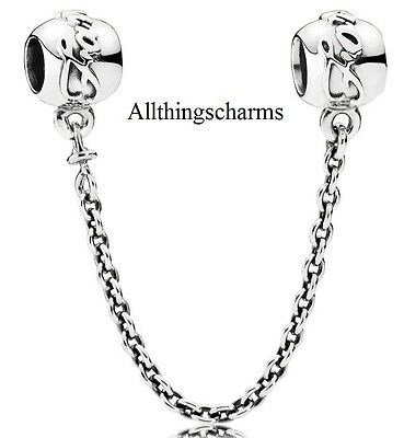 Brand New Genuine Silver Pandora Family Ties Safety Chain 791788-05 - RRP £50.