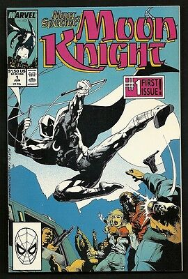 Marc Spector Moon Knight 1 & Special Edition 1 (Lot of 3) Marvel 1989 1992