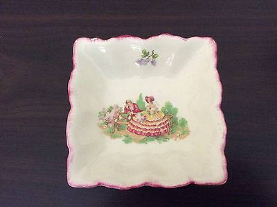 Collectable Vintage Square Trinket Dish Swinnertons Staffordshire England
