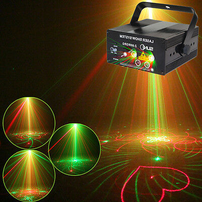 SUNY 80 Gobos LED Laser Light Projector DJ Stage Show Home Party Club Light AU