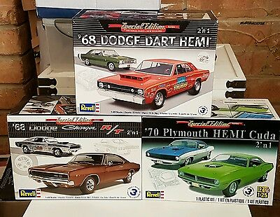 3× special edition model car kit's