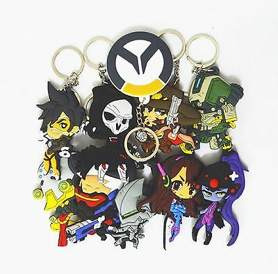 Blizzard Overwatch Keychains - Over 10 characters to choose from!