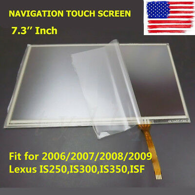 NEW NAVIGATION TOUCH SCREEN fit for LEXUS IS250 IS300  ISF 2006 2007 2008 2009