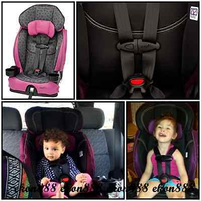 BABY Car Seat Safety Belt Chase Booster Harnessed Adjustable Evenflo Chase Child