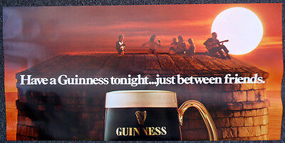Guinness Poster - 'Just Between Friends', c1980s