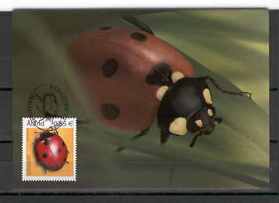 Aland Isl 080 MC 2006 INSECTS Seven-point ladybird