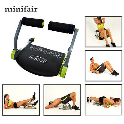 New Body Exercise System Ab Workout Fitness Train Home Gym Machine Exercisers