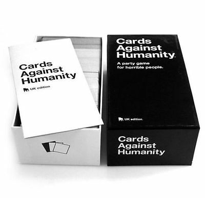Cards Against Humanity UK Edition Party Game Brand New Xmas Fun Gifts UK Seller