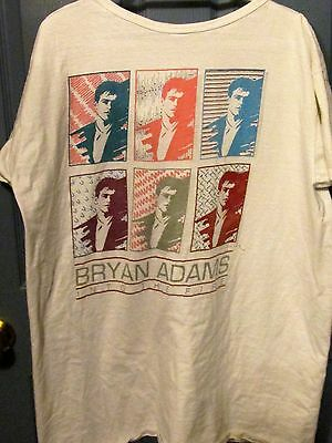 Bryan Adams Into the Fire Tour Vintage T-shirt One Size Fits All Unisex