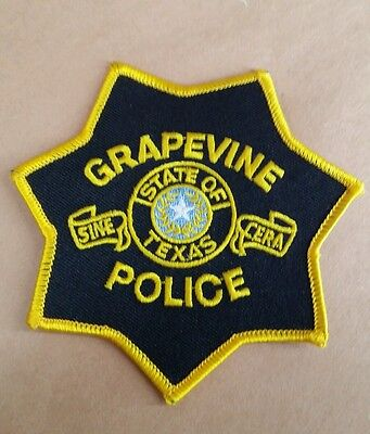 Grapevine, Texas Police Shoulder Patch Tx